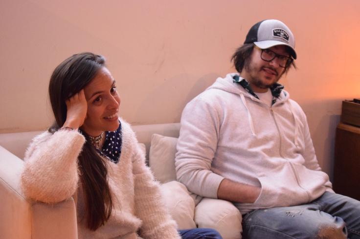Santiago Etchart y Lucila Mengide